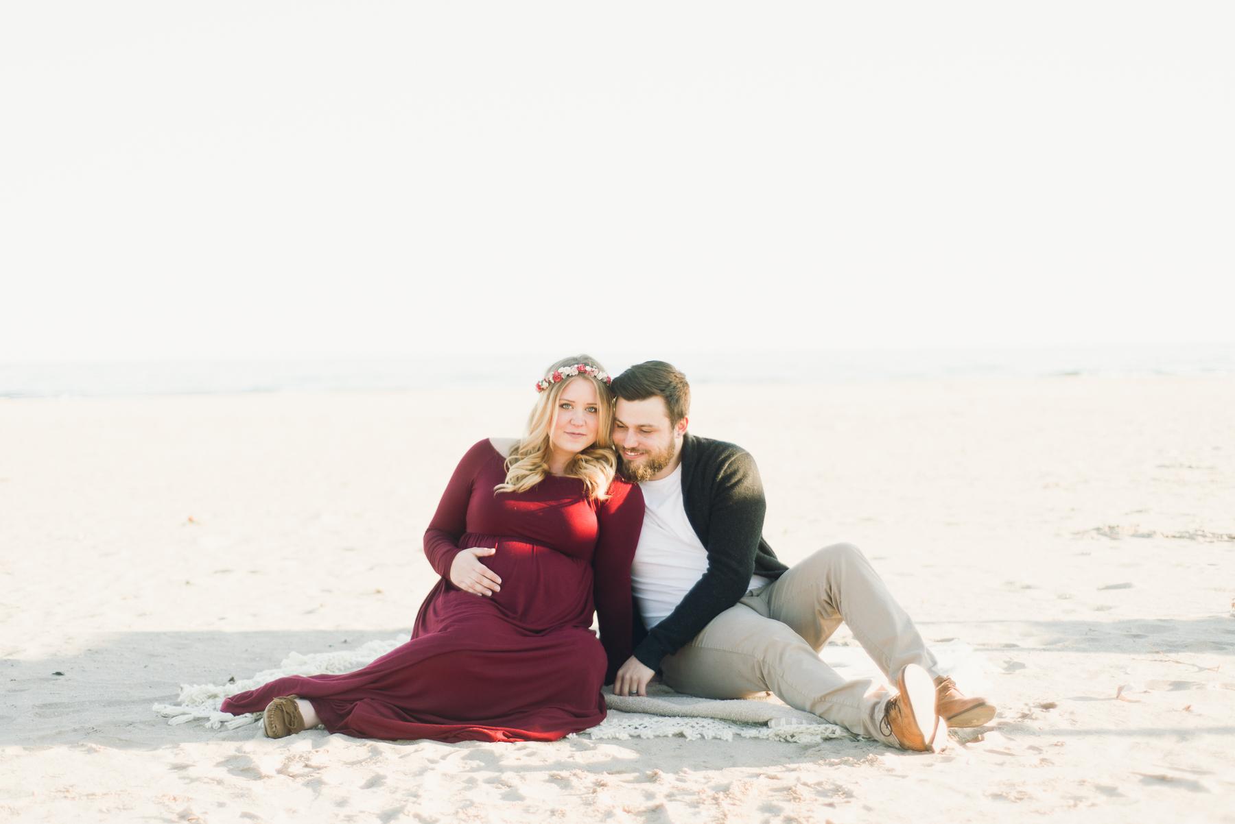 Cobourg Beach Maternity Session_AJP (1 of 33).jpg