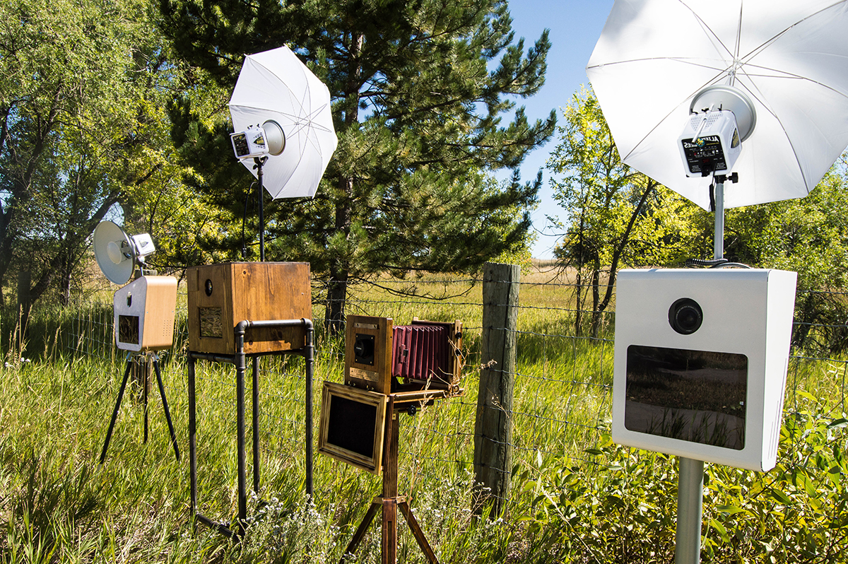 variety of photo booths