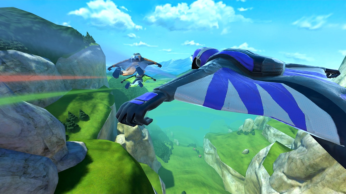 Take a dive into the adrenaline-pumping world of wingsuit flying with RUSH. Soar down mountainsides at breakneck speeds. Weave through canyons, dodge outcrops, and plummet down sheer drops as you race towards the finish line.
