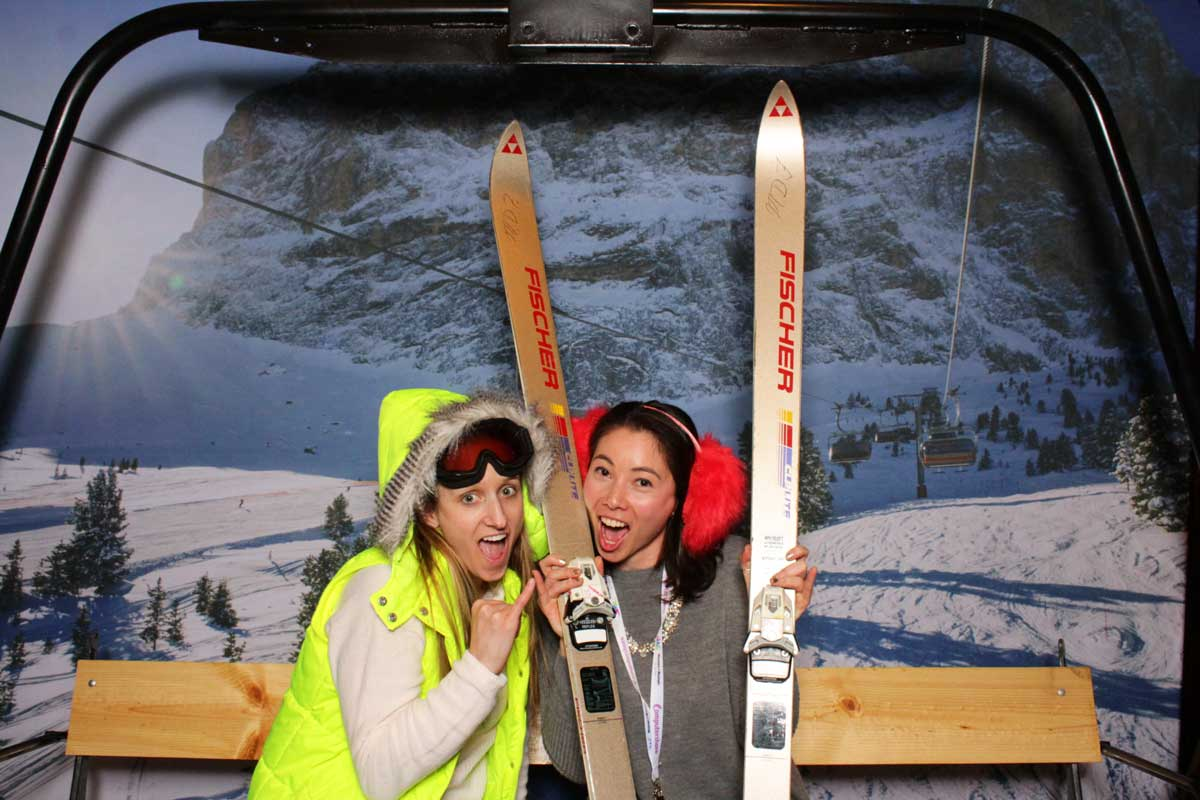 Ski Lift Photo Shoot -