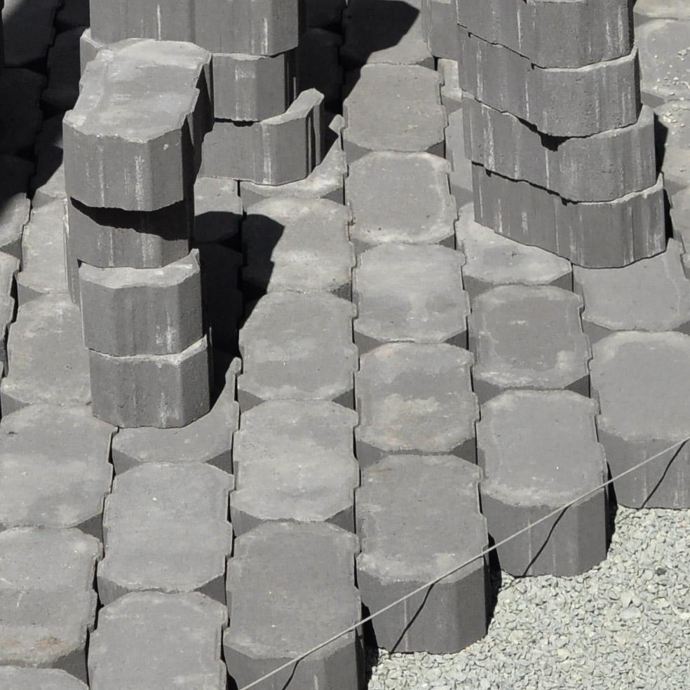 Permiable Interlocking Concrete Pavers