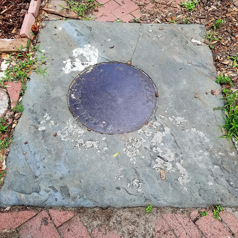 Manhole Frame - Slate