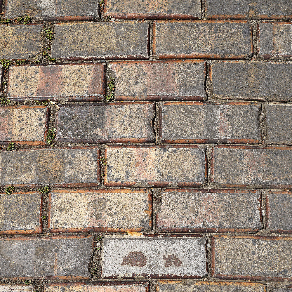 Vitrified Brick - Yellow, Bevelled
