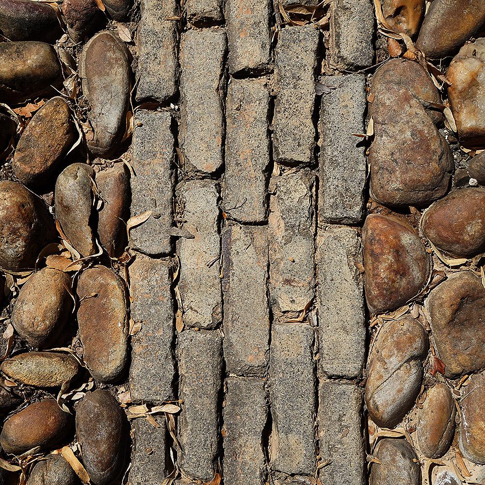 Vitrified Brick - Yellow - 5 rows
