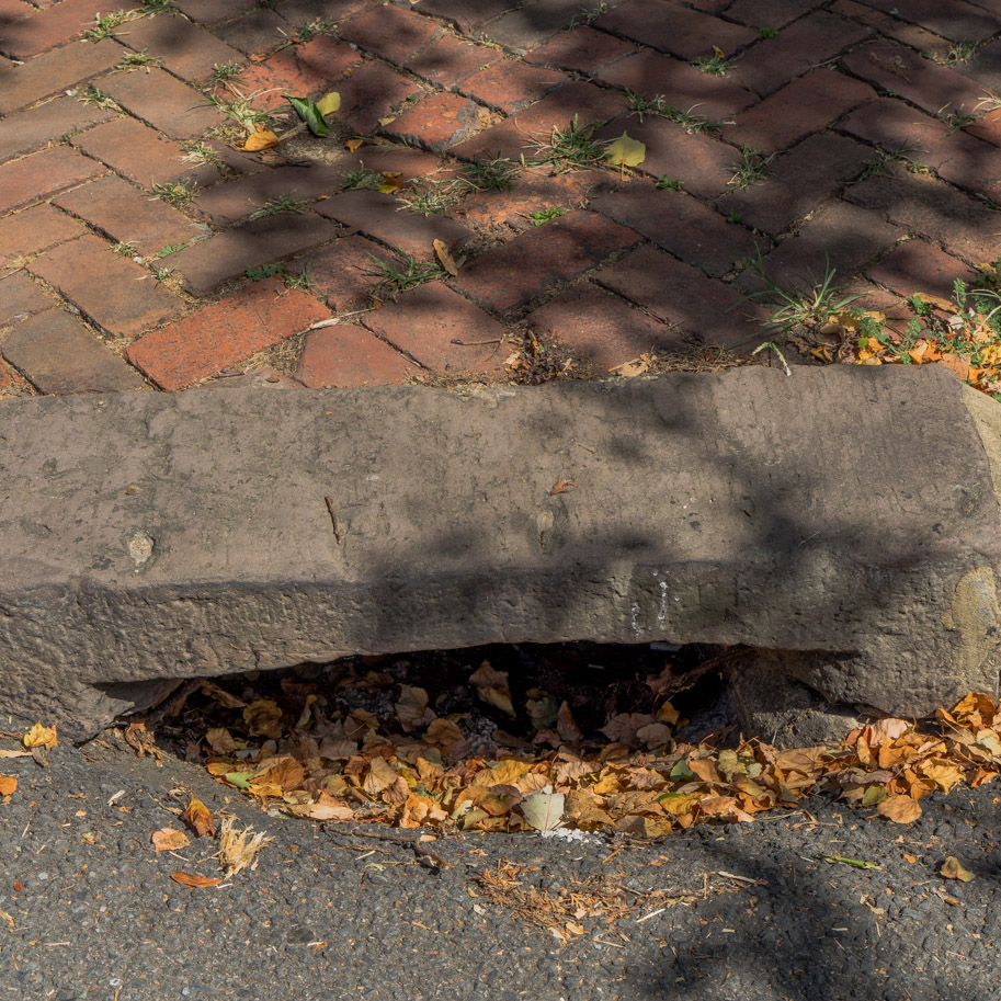 Stone Sewer Drain
