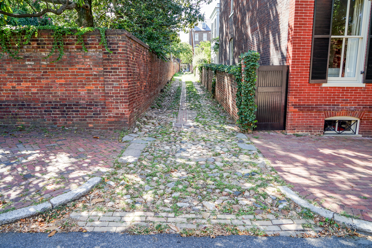 Wales Alley at Lee St.