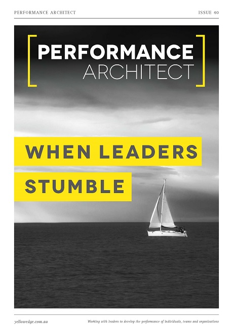 When leaders stumble