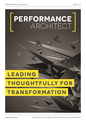 Leading thoughtfully for transformation