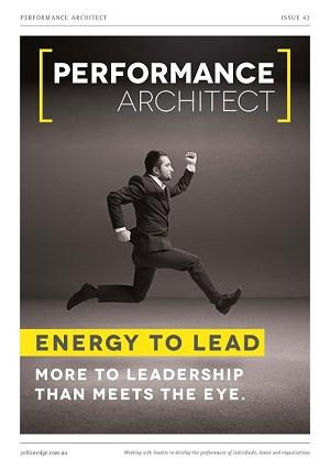 Energy to lead, leadership fitness