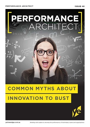 Common myths about innovation to bust