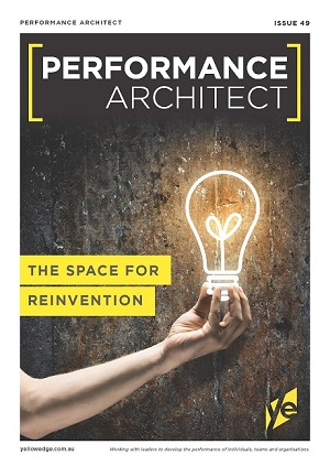 The space for reinvention, workplace leadership