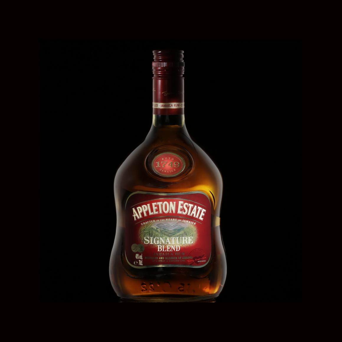 Whiskey Bottle Appleton Estate