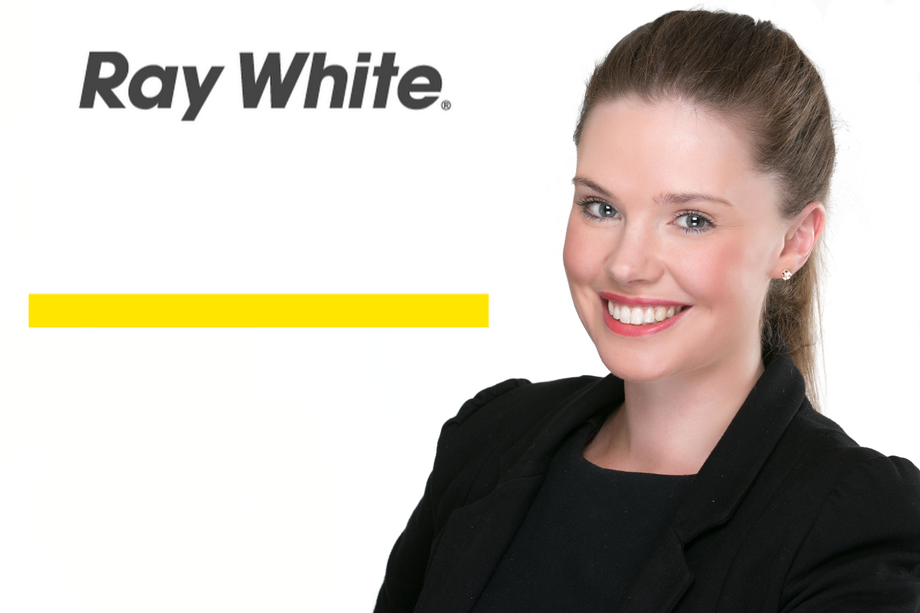Typical Studio Headshot for Real Estate Agents Holly Jones Ray White New Brighton