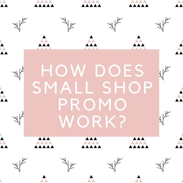 How the Small Shop Promo Event works is every Small Shop involved offers the EXACT SAME universal promotional code for 24 hours! We're keeping the code secret, and will reveal the universal code to start the event on Nov 15th at 6pm PST .  By using a unique hashtag, completely original to this promo event, customers and follower alike can shop and discover the best Small Businesses via social media.  #sspholiday19