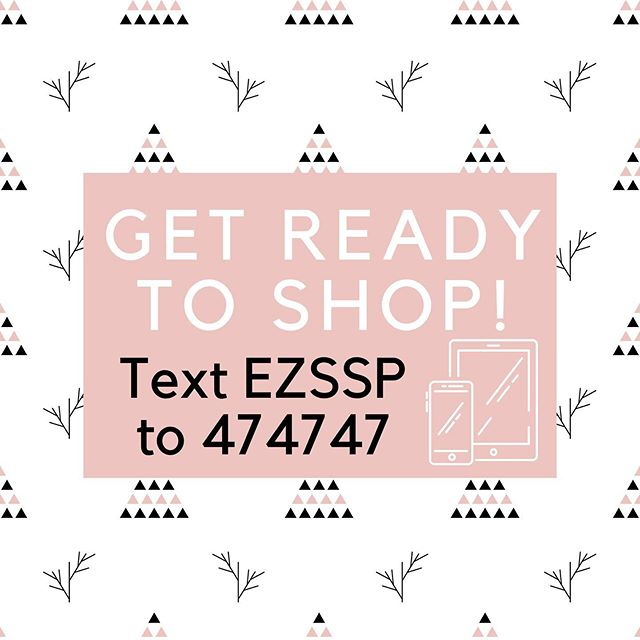 Text EZSSP to 474747 to recieve a text when the sale starts and the code 30 minutes before the announcement!  Small Shop Promo was created with not only our amazing customers in mind, it was created for Small Business owners looking to market on a whole new level!  It's an original promo event like nothing you've seen before, all taking place through Instagram and your FAV Small Shop online businesses!  Tag your friends, let them know, this is the best place to save big while shopping small 😀 #smallshoppromo #sspholiday19