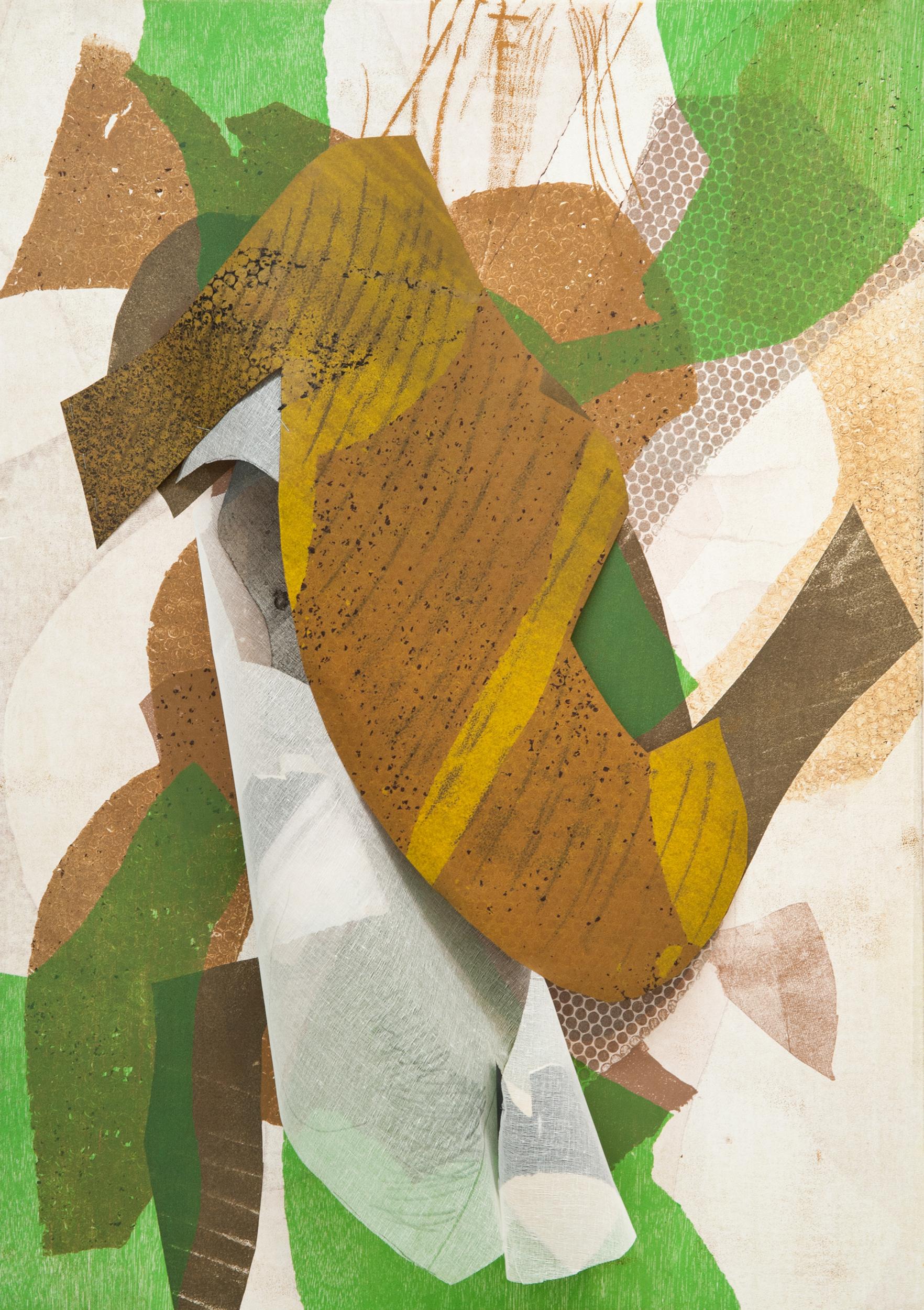 "Kay Harvey     ""Untitled"" 2016. Construction Prints. 44 x 30"""