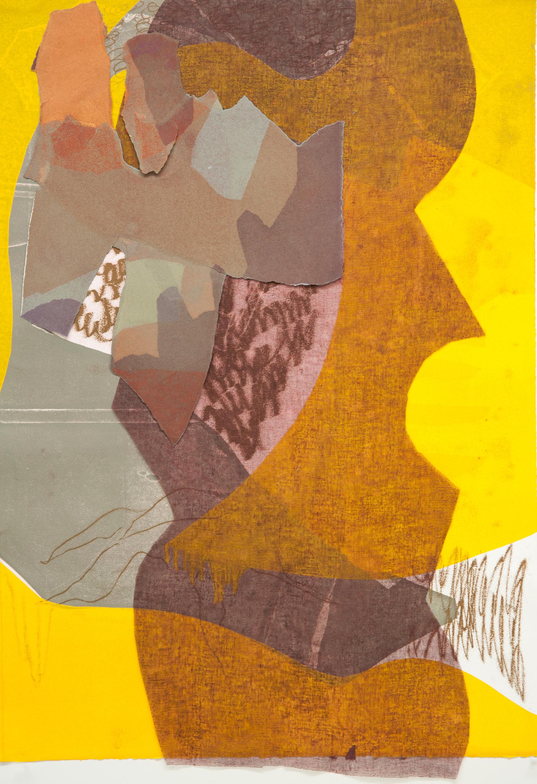"Kay Harvey   ""Untitled"" 2016. Construction Prints. 30 x 35"""