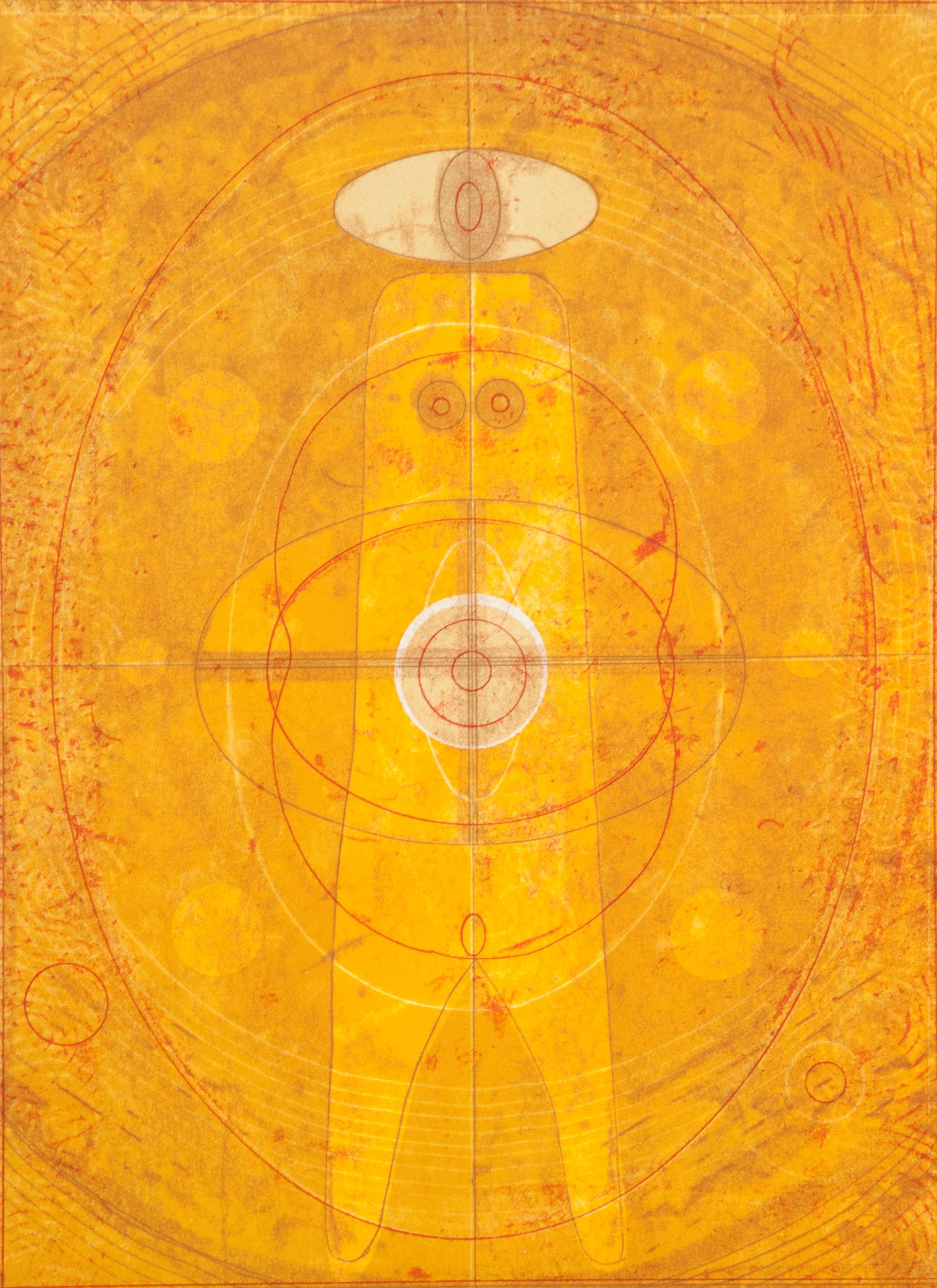 "Elizabeth Newman   ""Untitled"" 2015. Monotype. 22 x 30"""