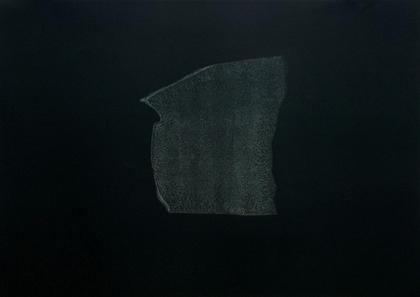 Kay Harvey Memory & Desire III, Iceberg Series I, 2008, 30.25 x 42.75 inches, monotype, Oil on Paper