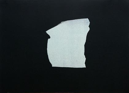 Kay Harvey Memory & Desire II, Iceberg Series I, 2008, 30.25 x 42.75 inches, monotype, Oil on Paper