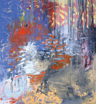 Kay Harvey VI, Elements, 1999, 72 x 68 inches, Painting, Oil on Canvas