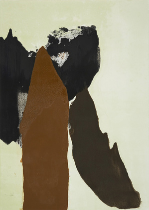 Kay Harvey After Africa 02, After Africa Series, 2004, 48 x 36 inches, monotype, Oil on Paper