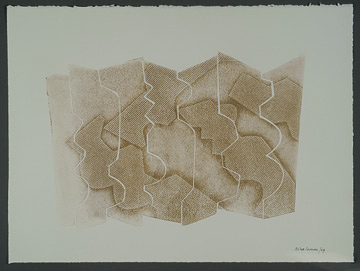 """Nino Caruso Nino Caruso  Untitled , 2009, mono print, 22"""" x 29.5"""""""