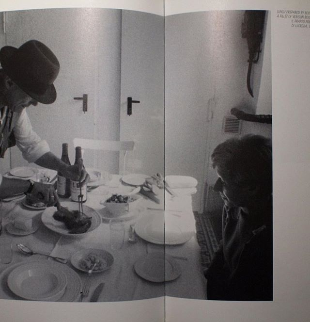 The revolution is us. Art is a kind of social sculpture. Sculpture is an evolutionary process. Eating is a form of communication, a cluster of symbols, a criterion of identity. Joseph Beuys: The Art of Cooking and no this is not just about food.  #conceptualart #sculpture #communication #josephbeuys #whatwouldjosephdo #socialsculpture #everyoneisanartist