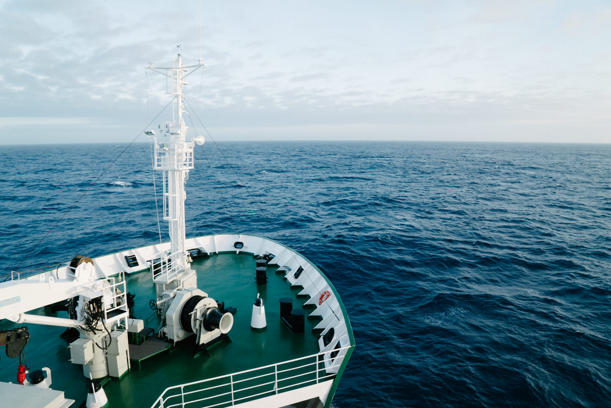 Hello from the middle of the Southern Ocean!
