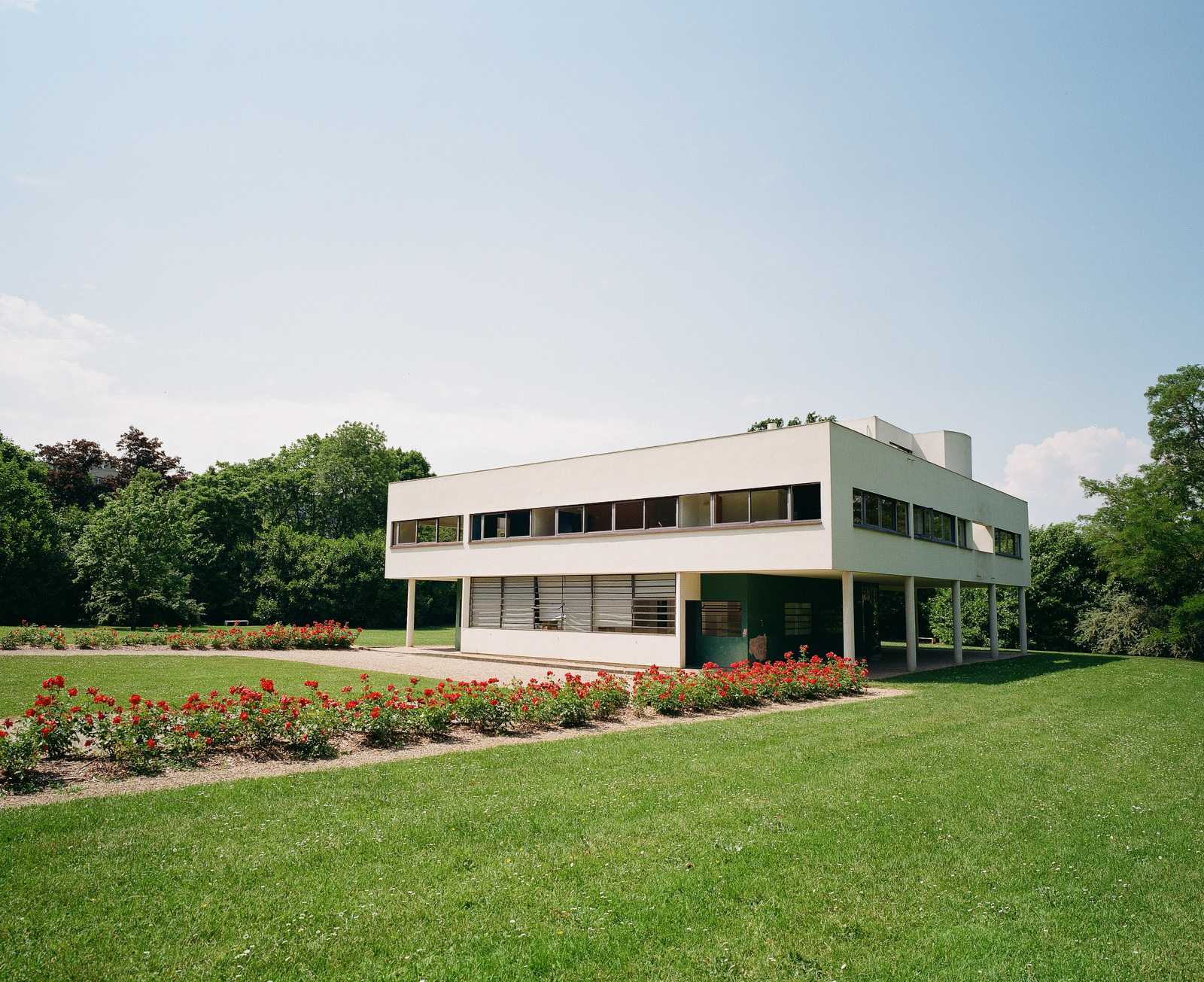 Villa Savoye by Le Corbusier, designed in 1920s and still modern today.