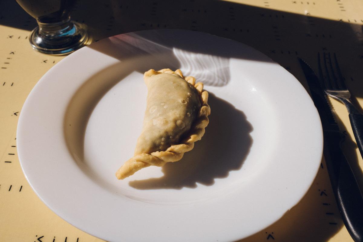 Empanada for lunch