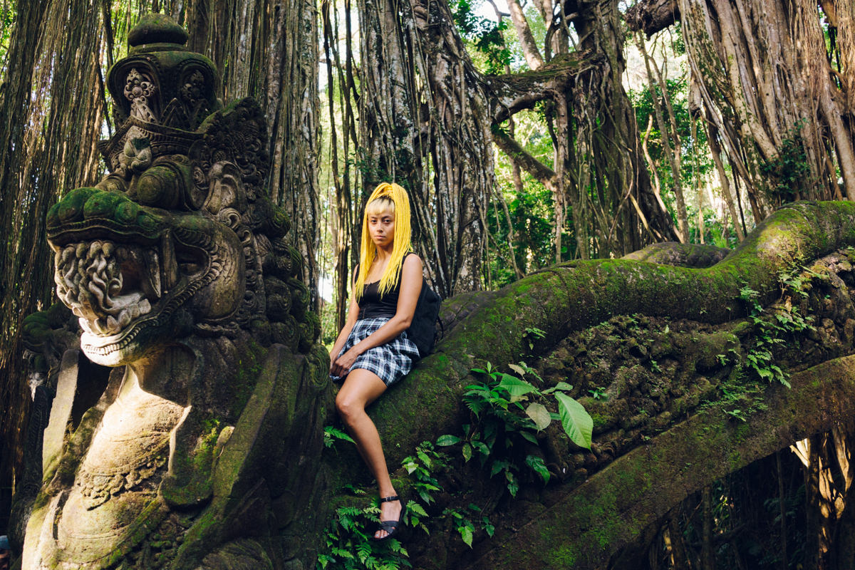 No visit to Bali is complete without a stop at the Monkey Forest is Ubud.
