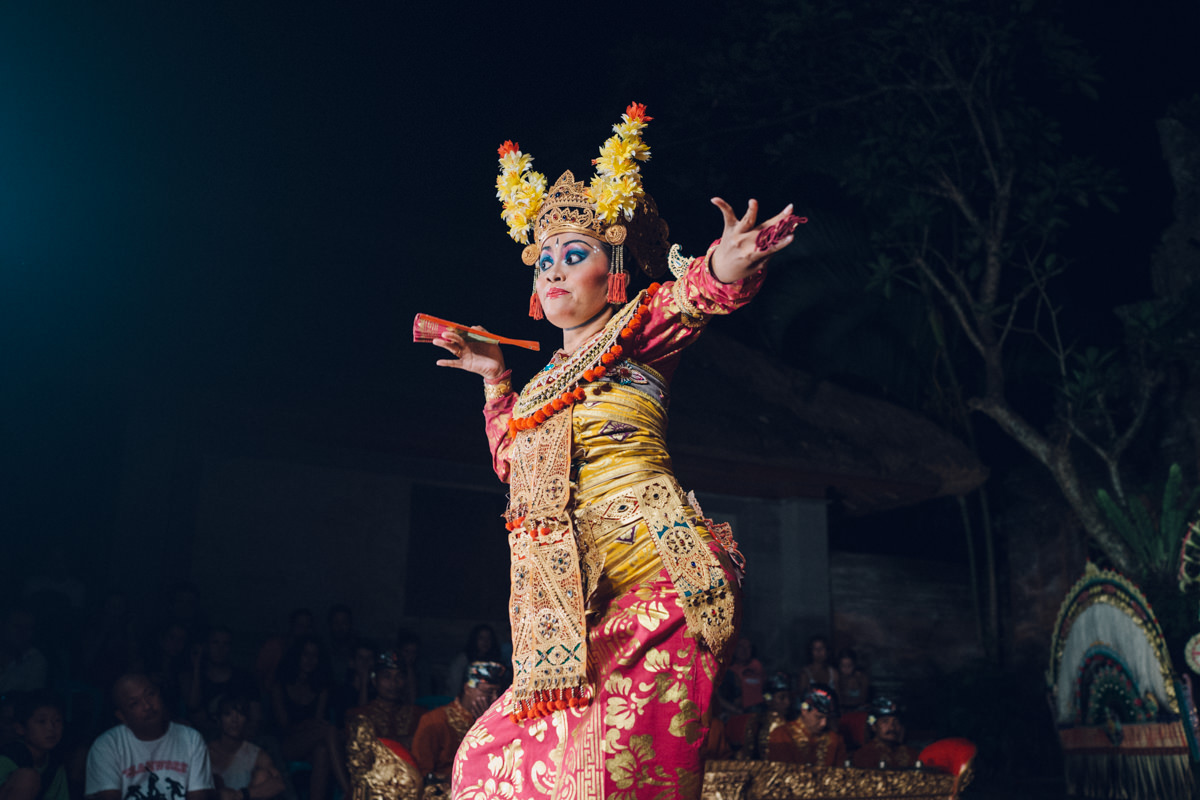On one of our last nights we watched a Balinese dance perfomance in Ubud