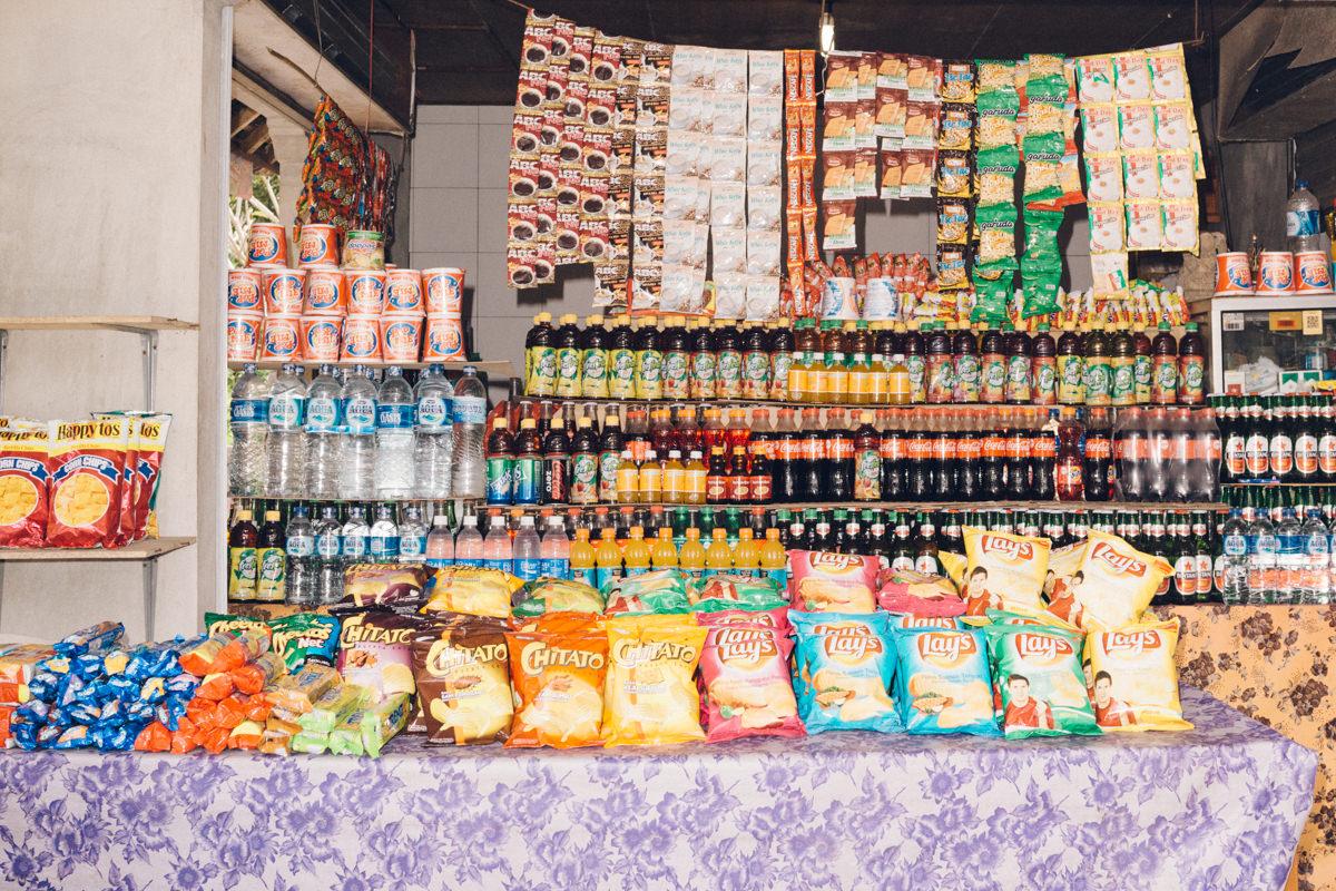 Bali Lays and Doritos