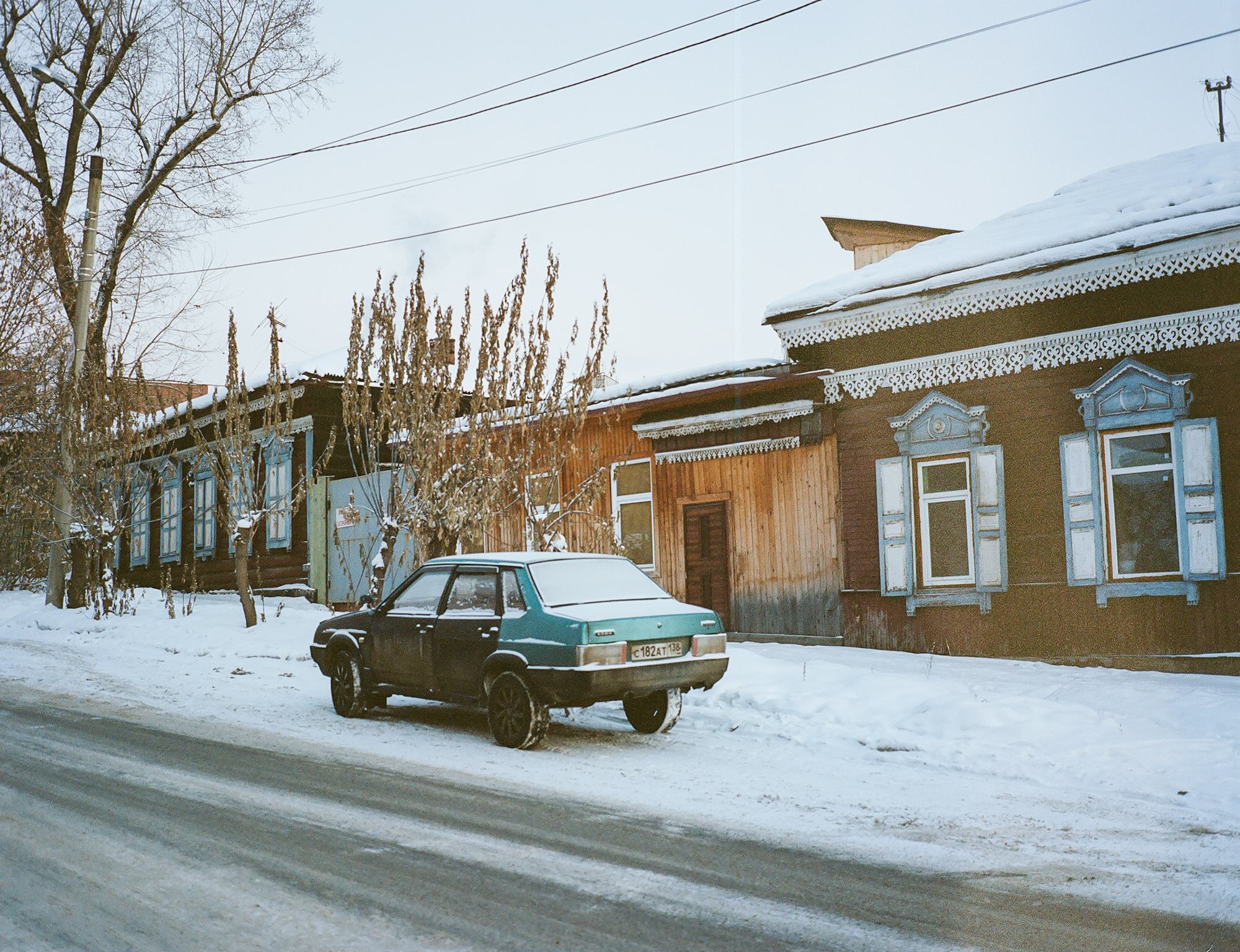 Out and around the city of Irkutsk.