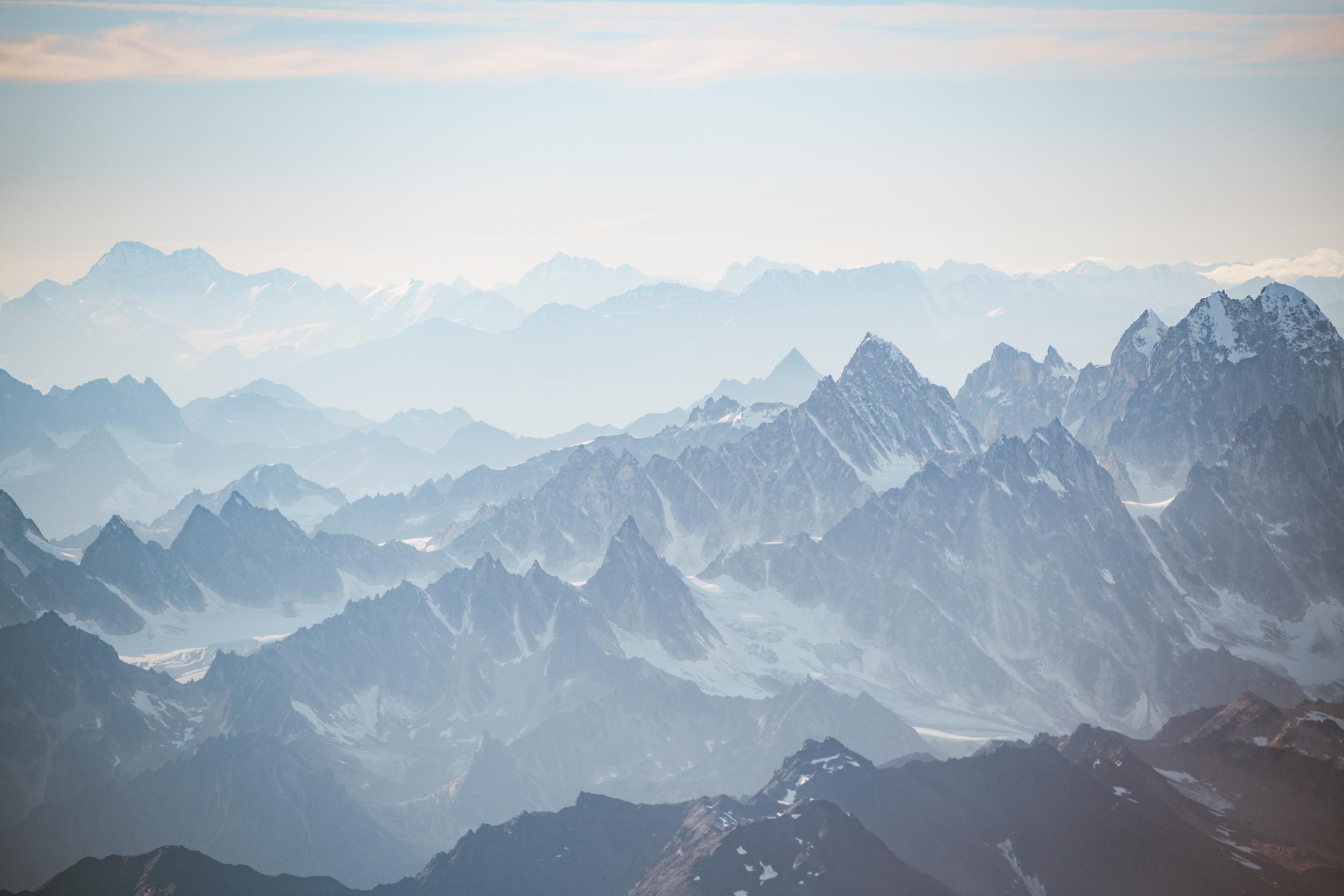 Peaks of the Alaska Range
