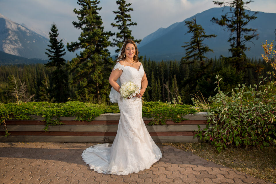Wedding Juniper Hotel in Banff