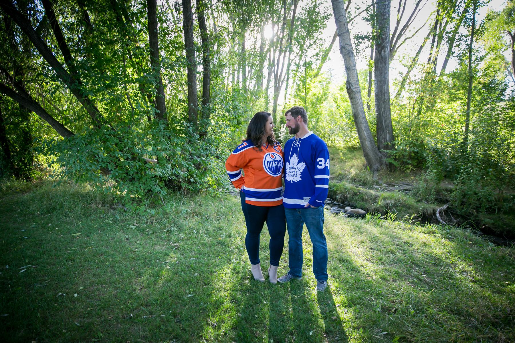 Engagement Photos Confederation Park Calgary