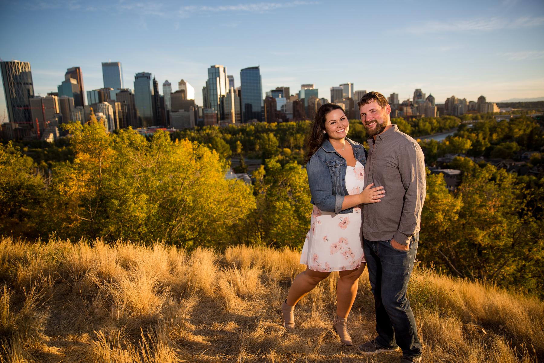 Engagement Photos McHugh Bluff Calgary