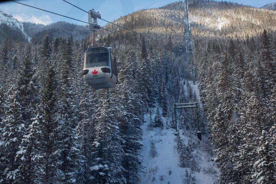 Banff Tram to Sulphur Mountain