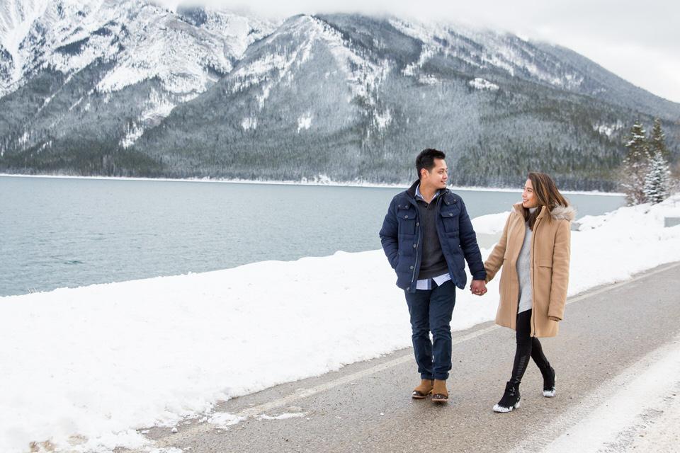 Engagement Photos Banff