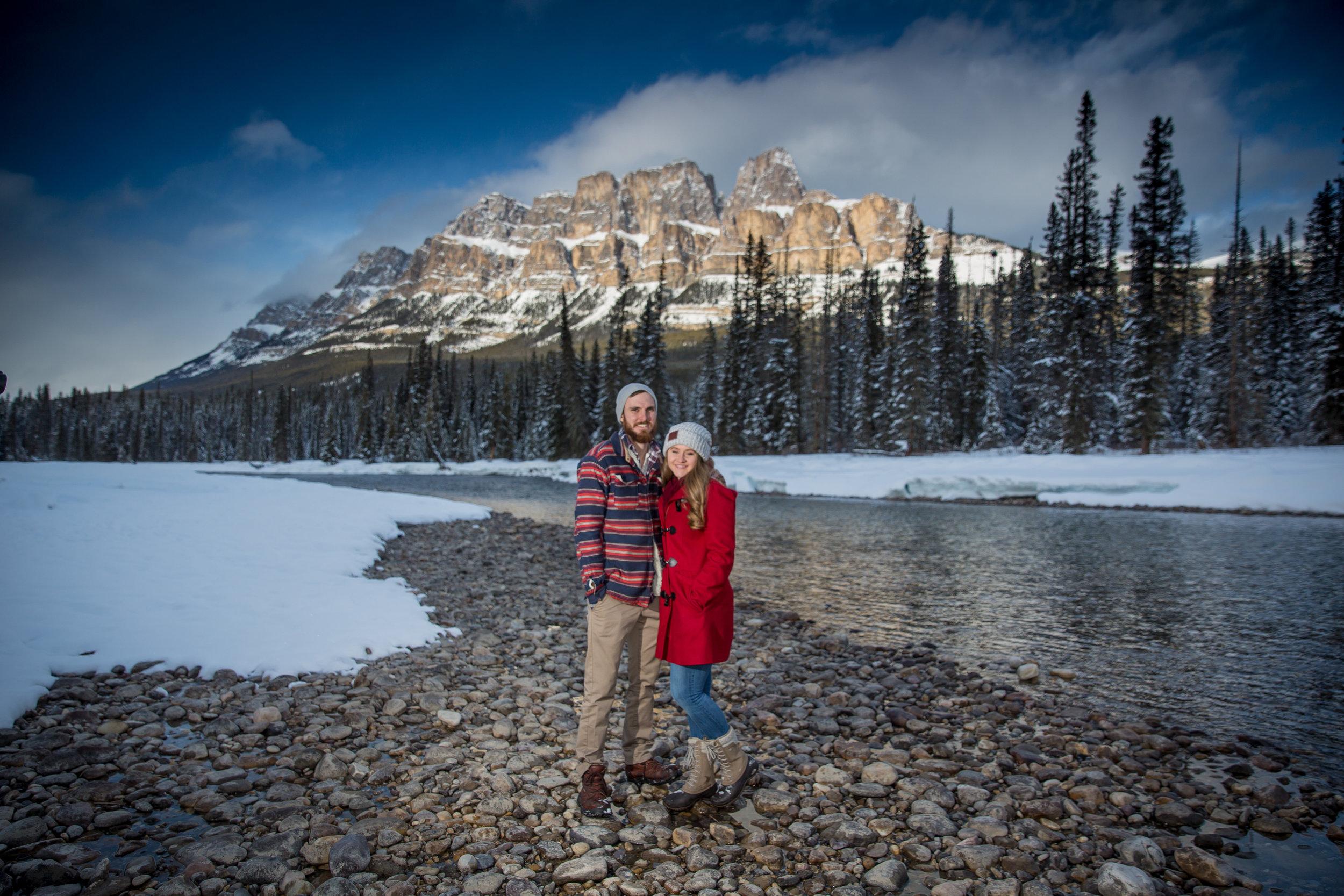 Engagement Photos Castle Mountain