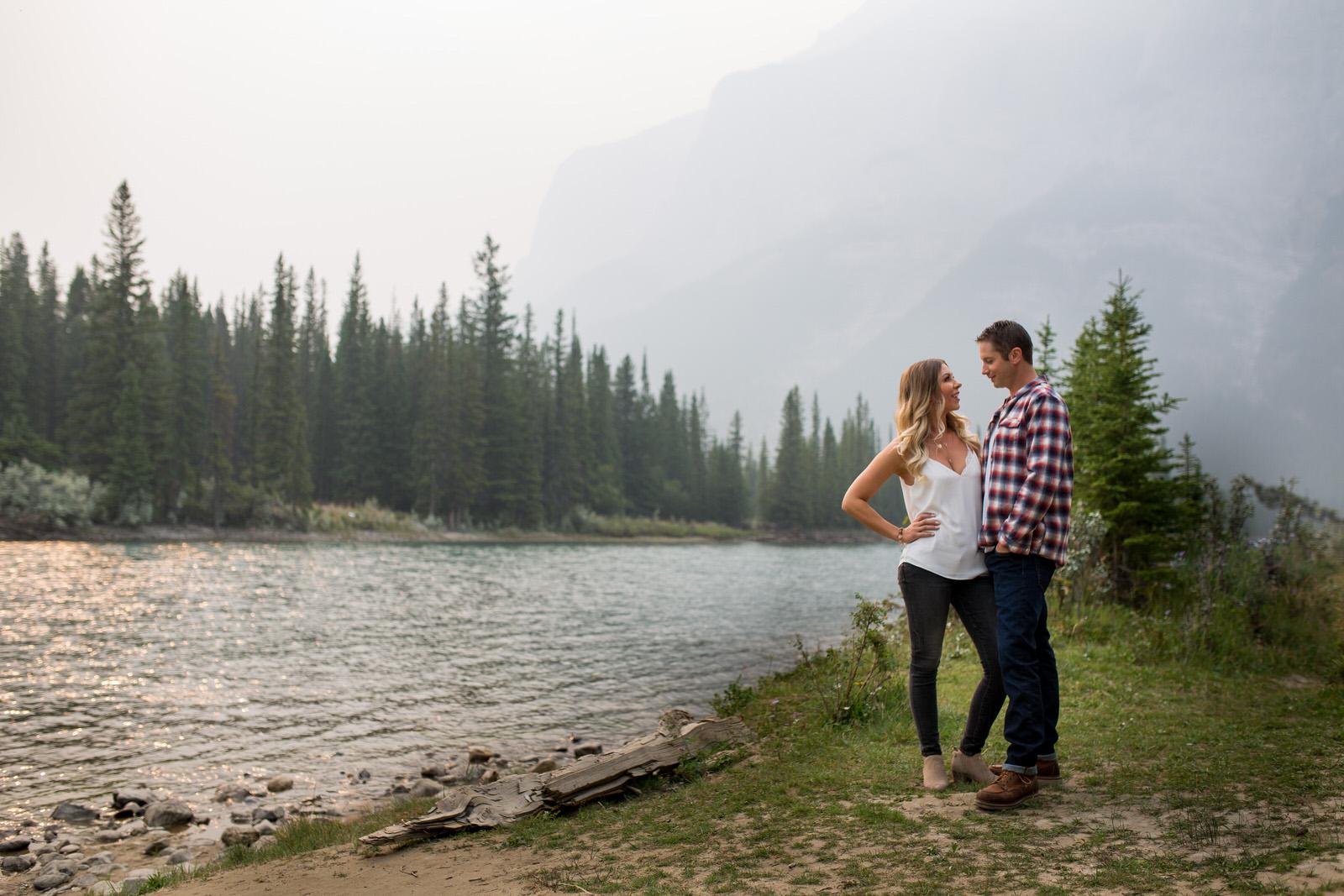 Best Engagement Photos Banff