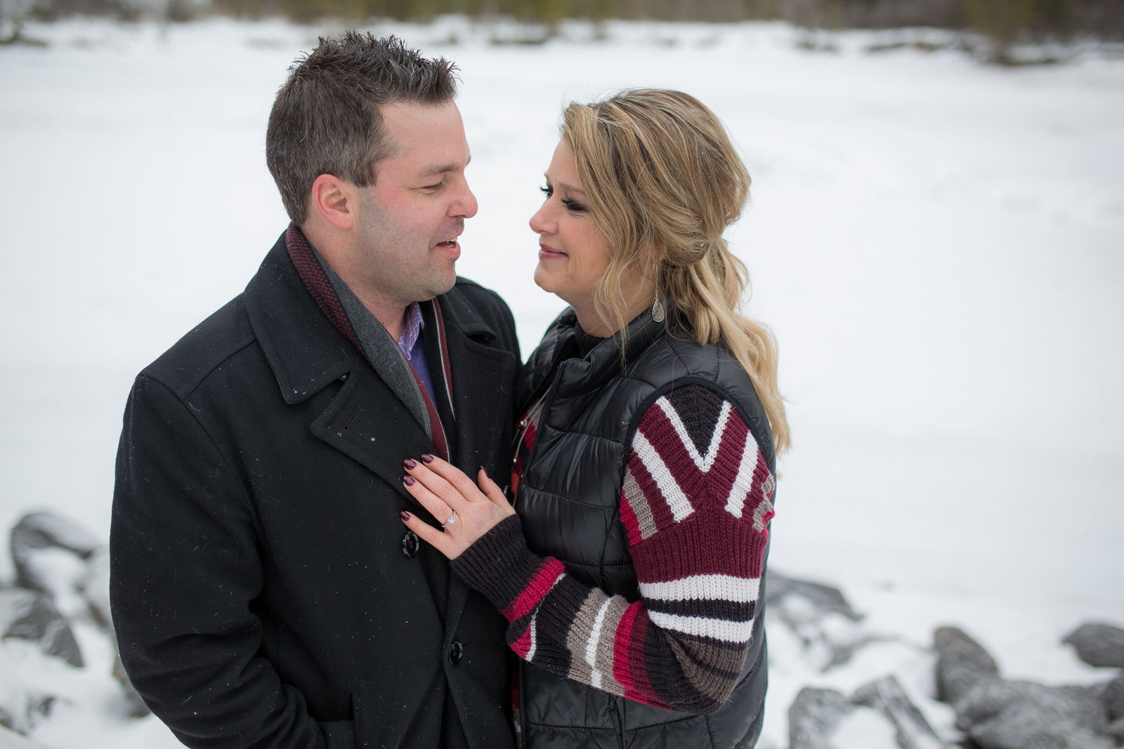 Canmore Engagement Photos