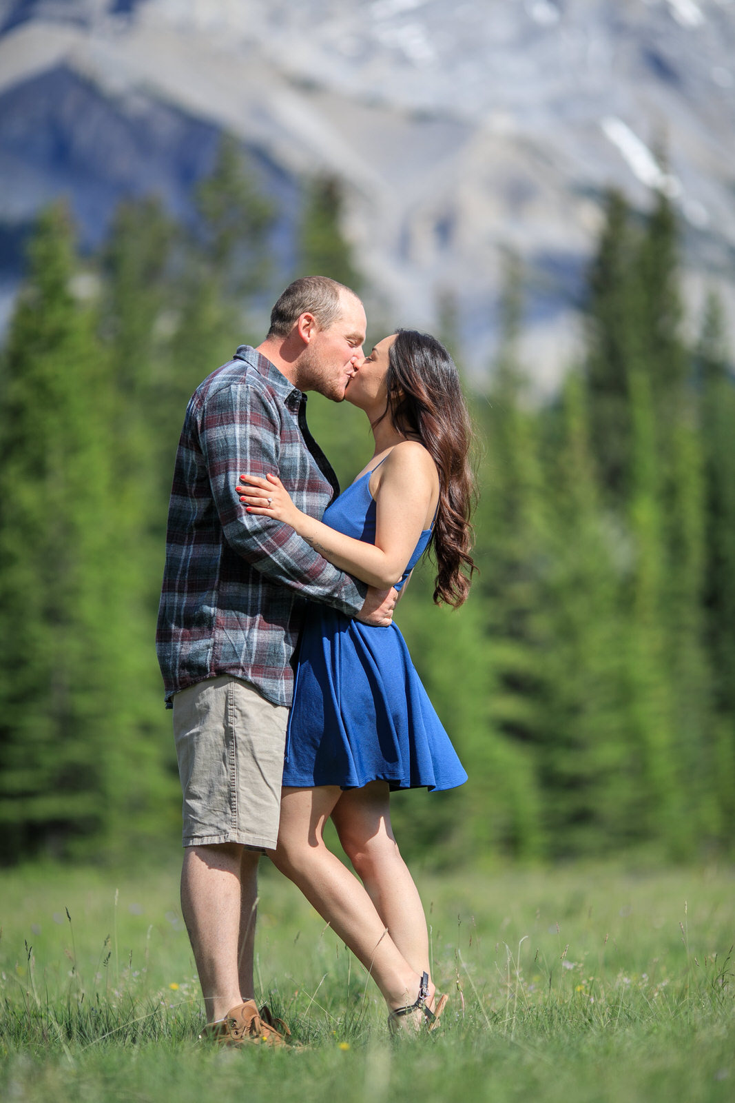 Engagement Photos in Banff