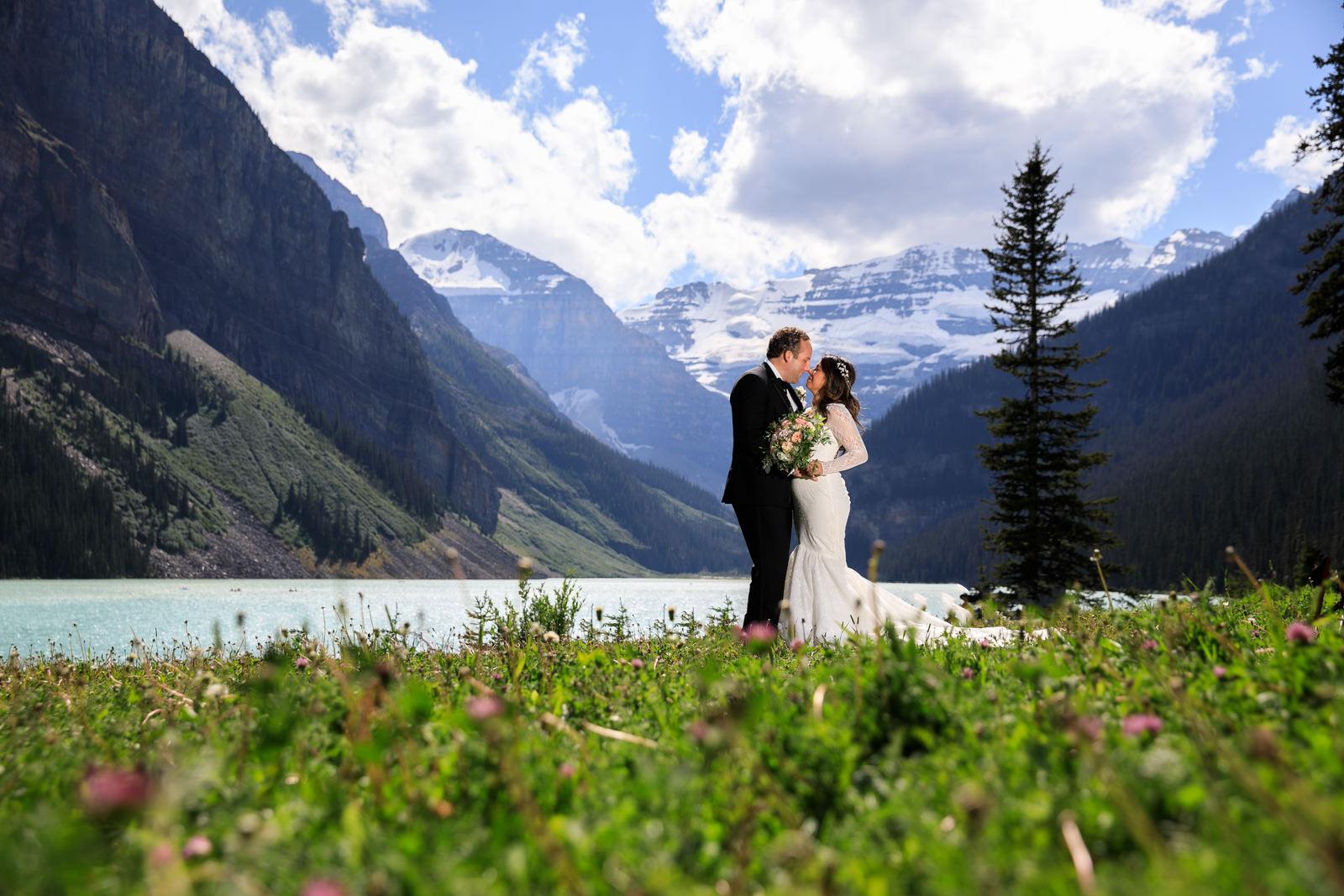 Wedding Fairmont Lake Louise