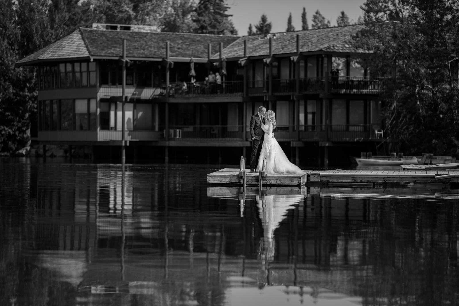Wedding at the Lake House