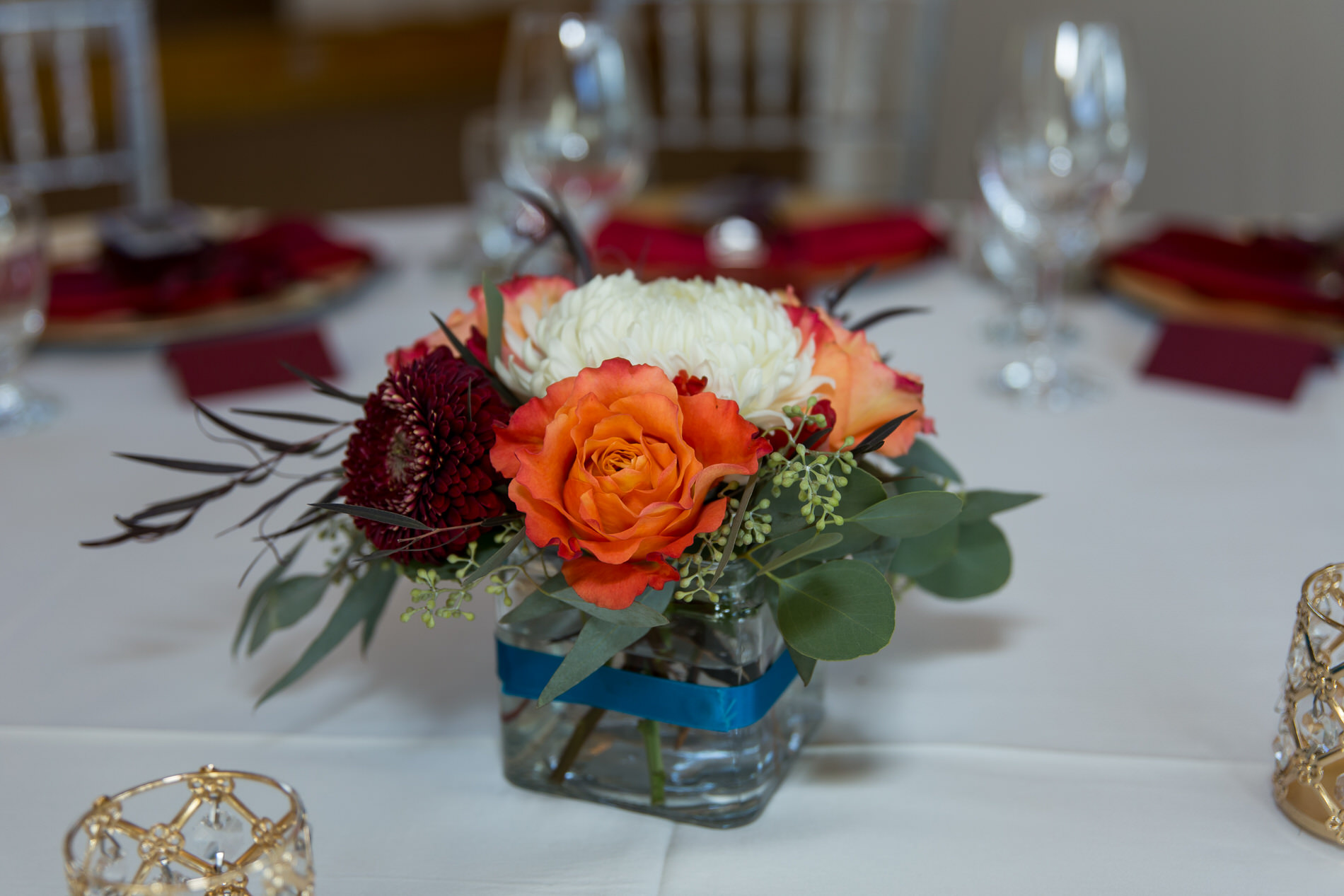 Photo of wedding details at Azuridge Estate in Priddis