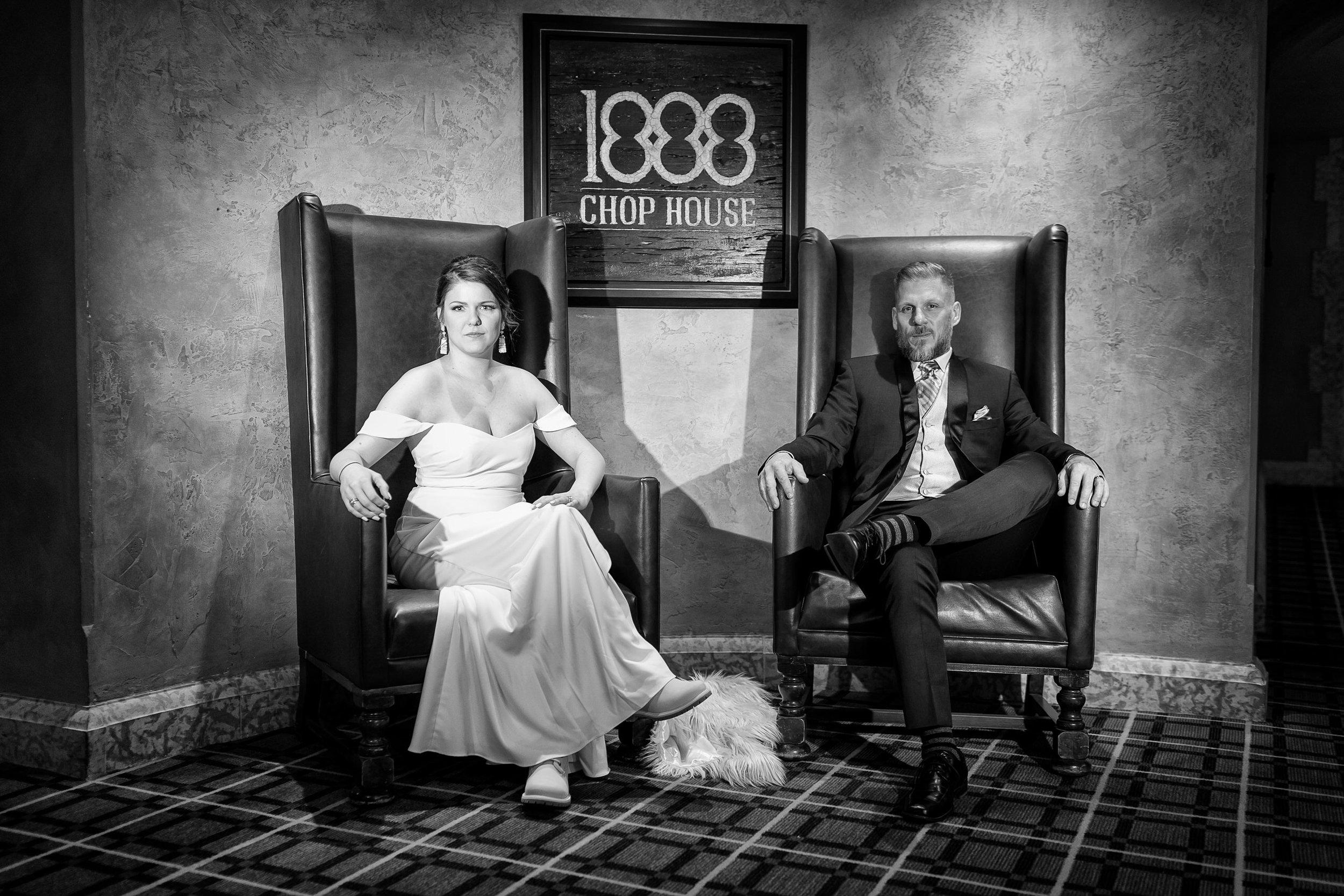 Fairmont Banff Springs Hotel Wedding Photos