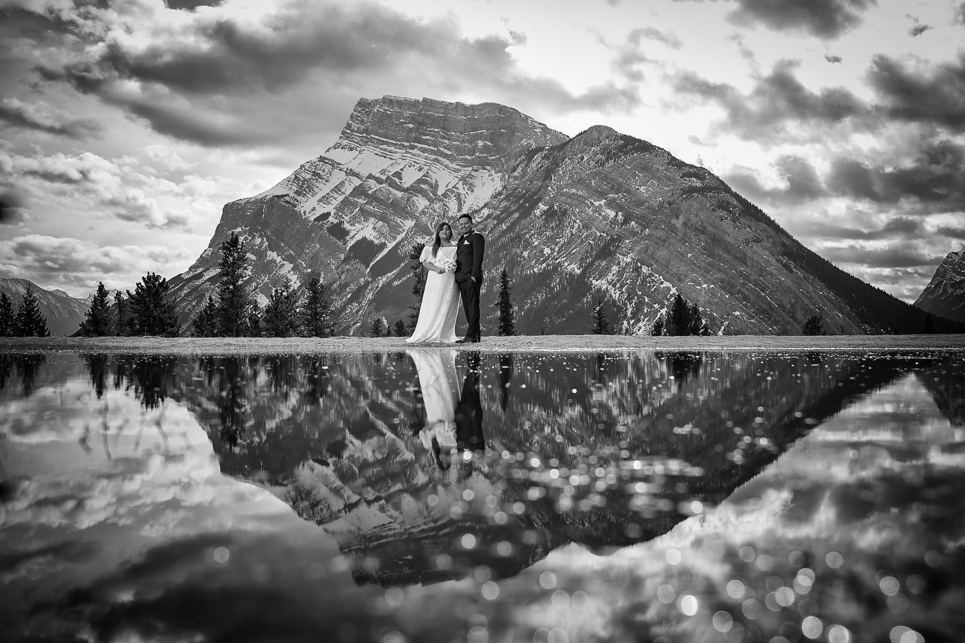 Banff Wedding Photographer Tunnel Mountain